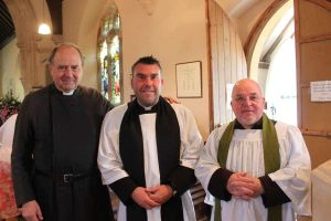 Clergy with guest speaker the Rev'd Fr Roger Butcher